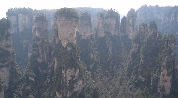 ascensore-bailong-paesaggio-Wulingyuan