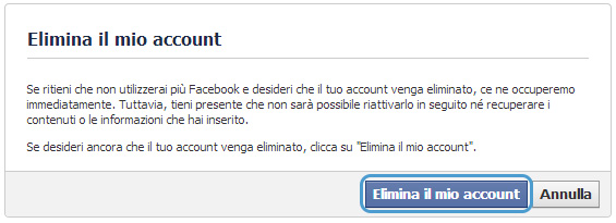 come-eliminare-account-facebook-conferma