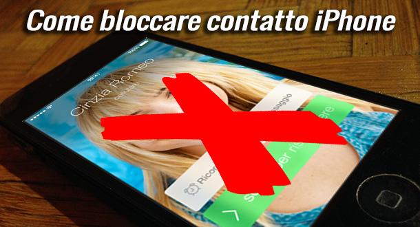 bloccare-contatto-iphone