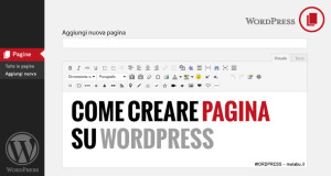 come-creare-pagina-con-wordpress