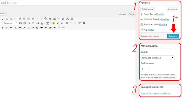 come-creare-pagina-wordpress-pubblicare