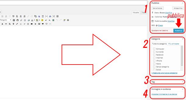 come-creare-un-articolo-wordpress-strumenti-laterali