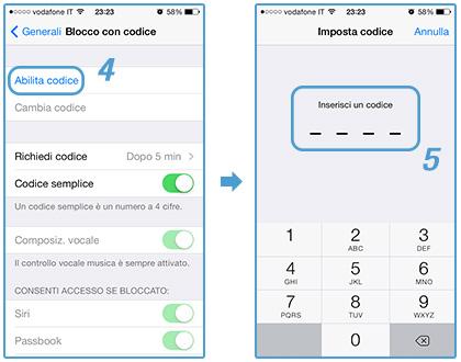 come-inserire-codice-protezione-iphone