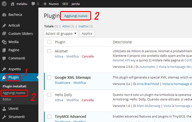 come-installare-plugin-wordpress