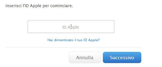 come-ripristinare-id-apple
