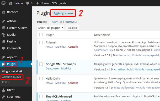 plugin-wordpress-aggiungi-nuovo