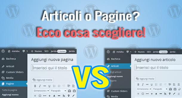wordpress-articoli-o-pagine