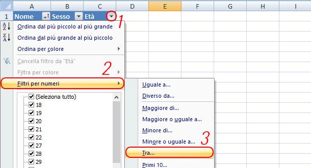 Come-aggiungere-un-filtro-in-Excel-numerico