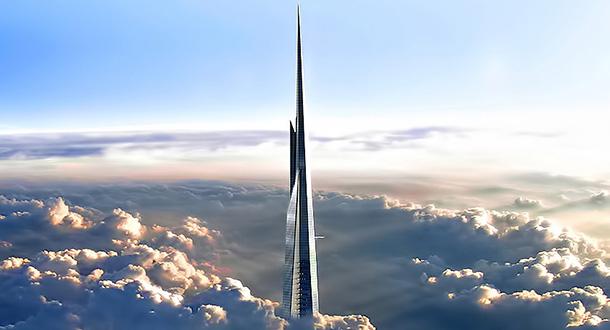 Kingdom tower il grattacielo pi alto del mondo for Il grattacielo piu alto del mondo