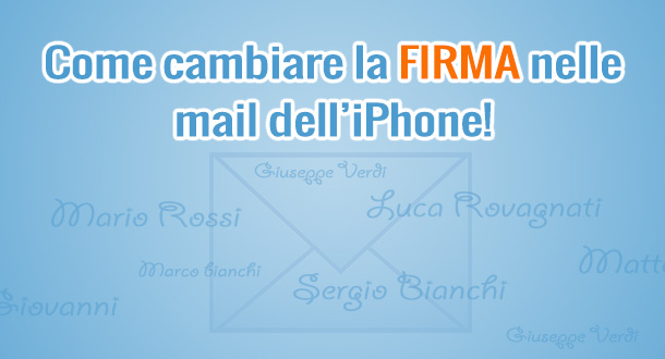 come-cambiare-firma-email-iphone