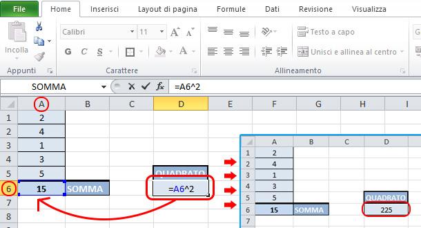 Come-elevare-a-potenza-Excel