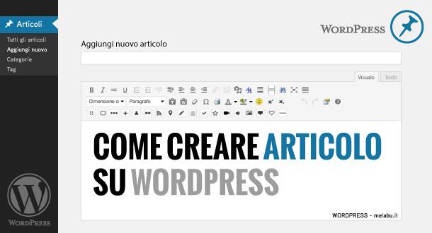 come-creare-articolo-su-wordpress