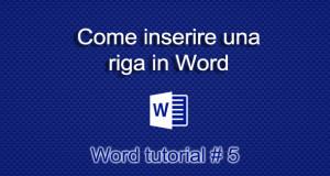 inserire-riga-in-word