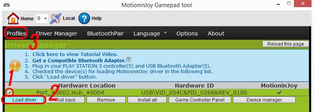 installare-driver-motioninjoy