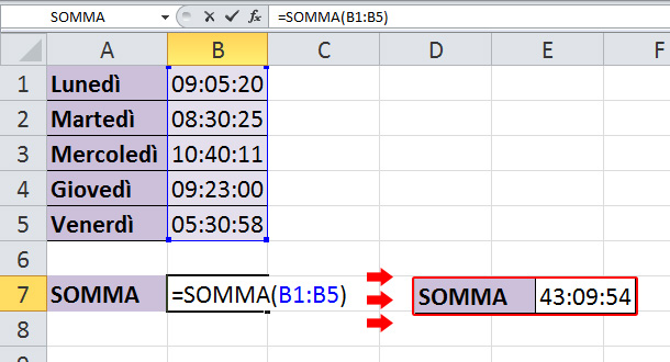 sommare-le-ore-in-excel