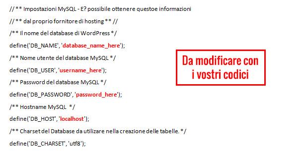 installare-wordpress-aruba-codici