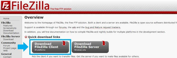wordpress-aruba-filezilla