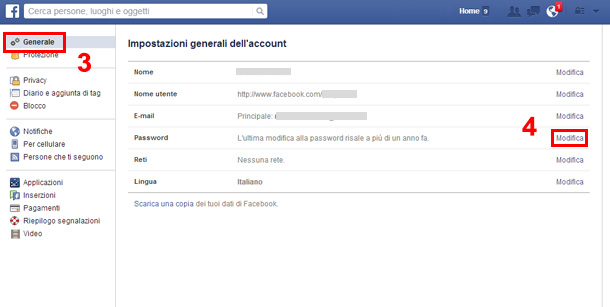 cambiare-password-su-facebook