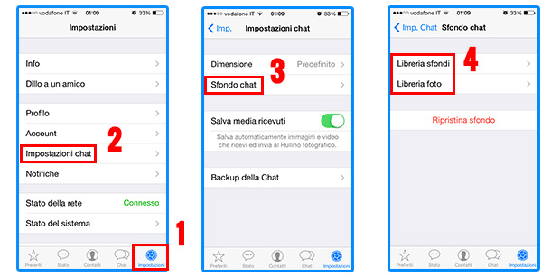 Come cambiare sfondo su iphone 8