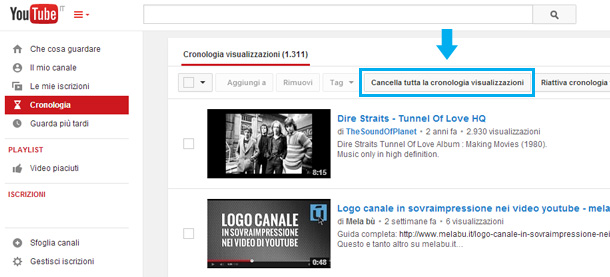 cancellare-tutta-la-cronologia-youtube