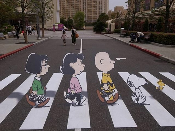 strisce-pedonali-Peanuts