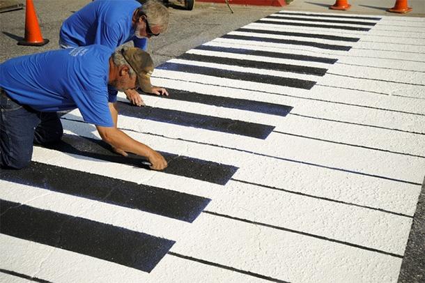 strisce-pedonali-pianoforte-Spartanburg-California