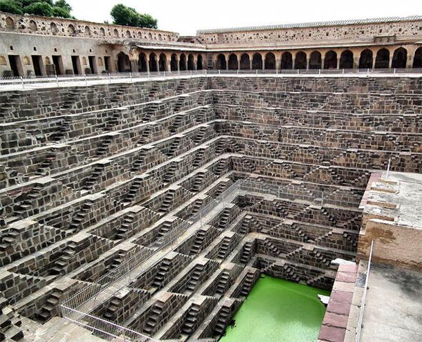 Le scalinate più ripide del mondo-Rajistan-India