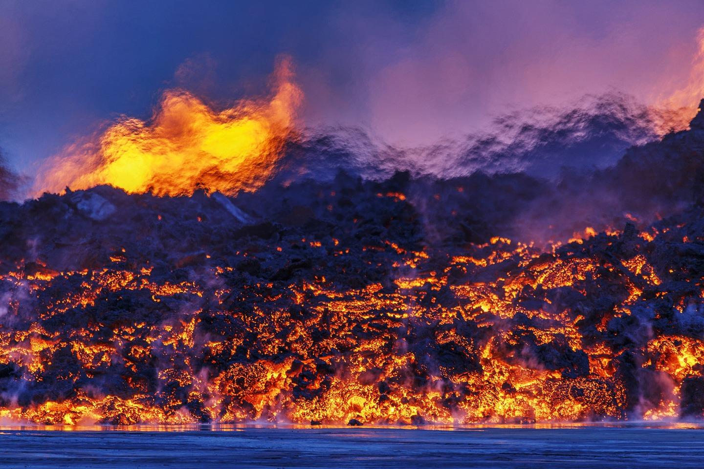 Iceland Volcano Lava Flow 03