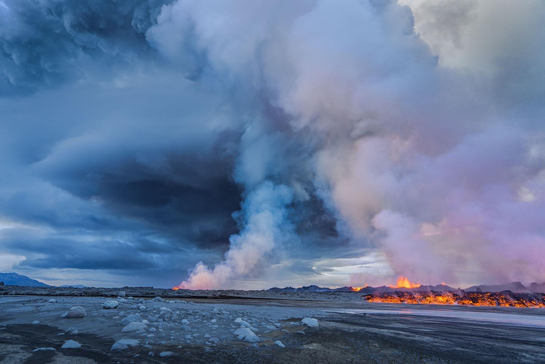 Iceland Volcano Lava Flow 05