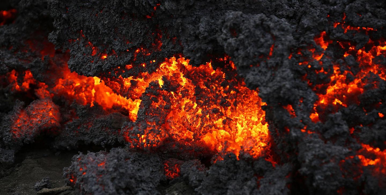 Iceland Volcano Lava Flow 06