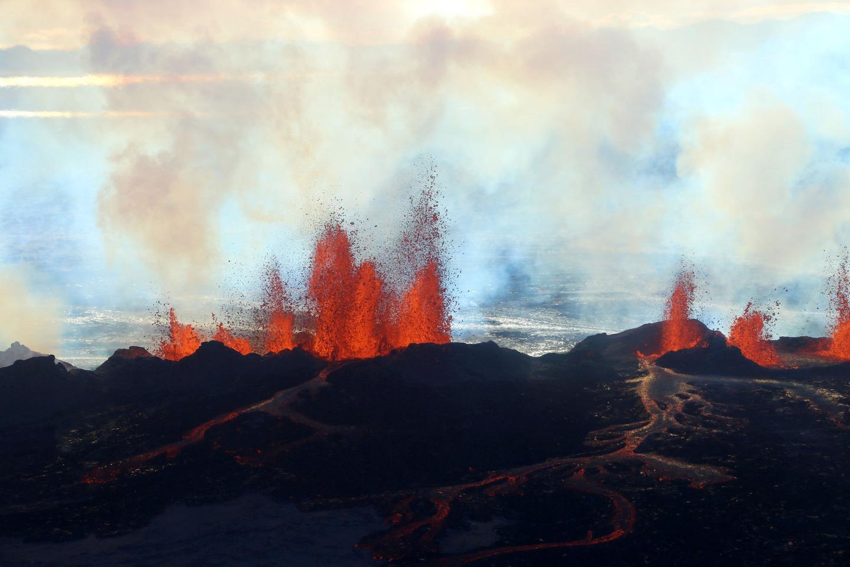 Iceland Volcano Lava Flow 07