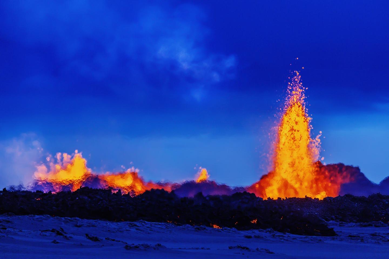 Iceland Volcano Lava Flow 09