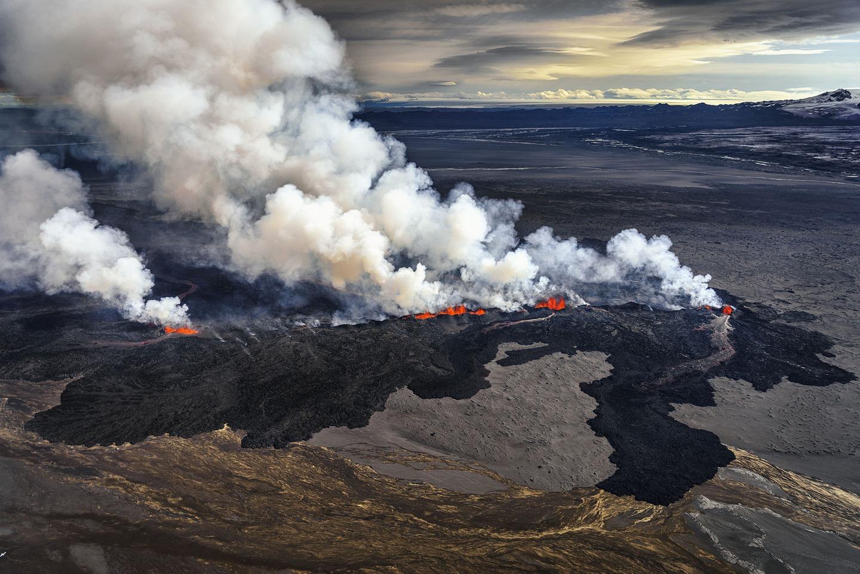 Iceland Volcano Lava Flow 10