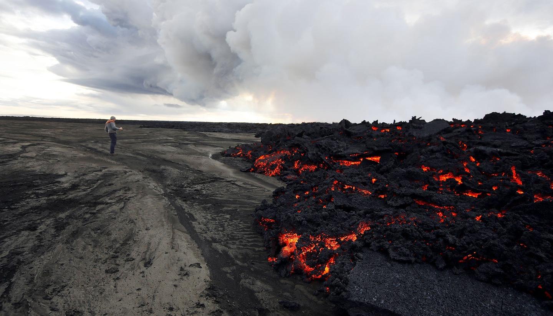 Iceland Volcano Lava Flow 11