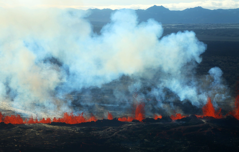 Iceland Volcano Lava Flow 12