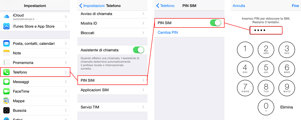 come-togliere-codice-pin-da-iPhone-procedura