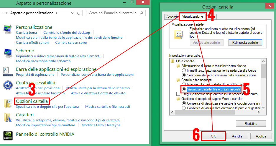 procedimento-per-visualizzare-file-e-cartelle-nascosti-su-Windows