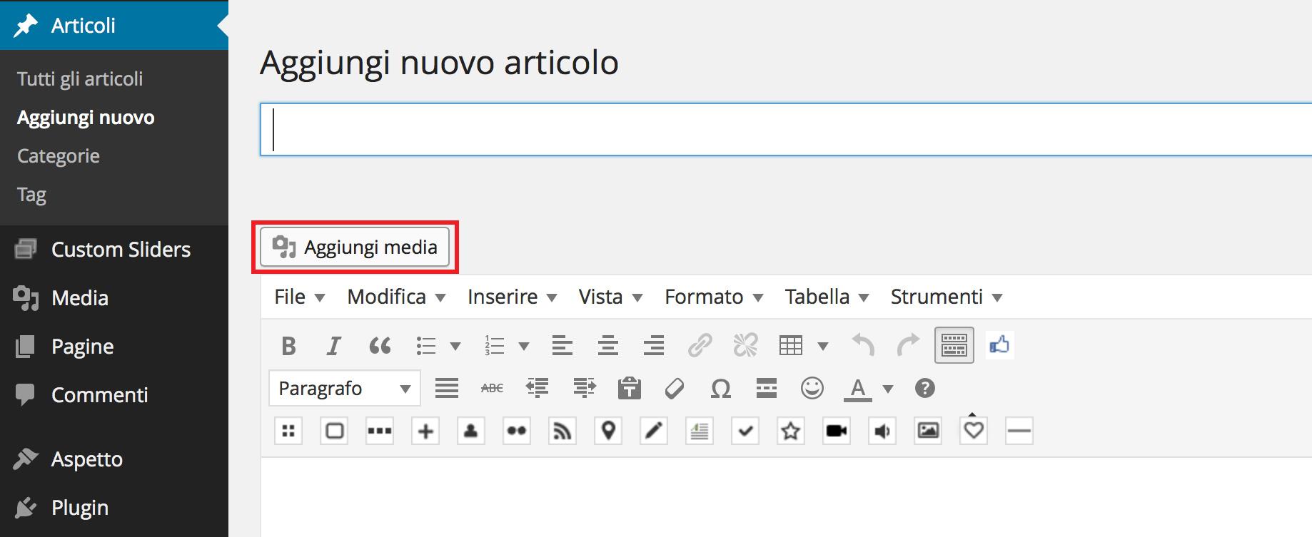 aggiungere-immagini-su-wordpress