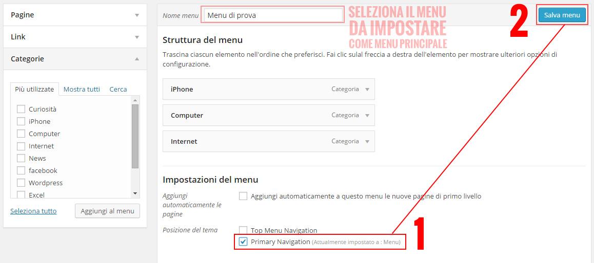 impostare-menu-principale-wordpress