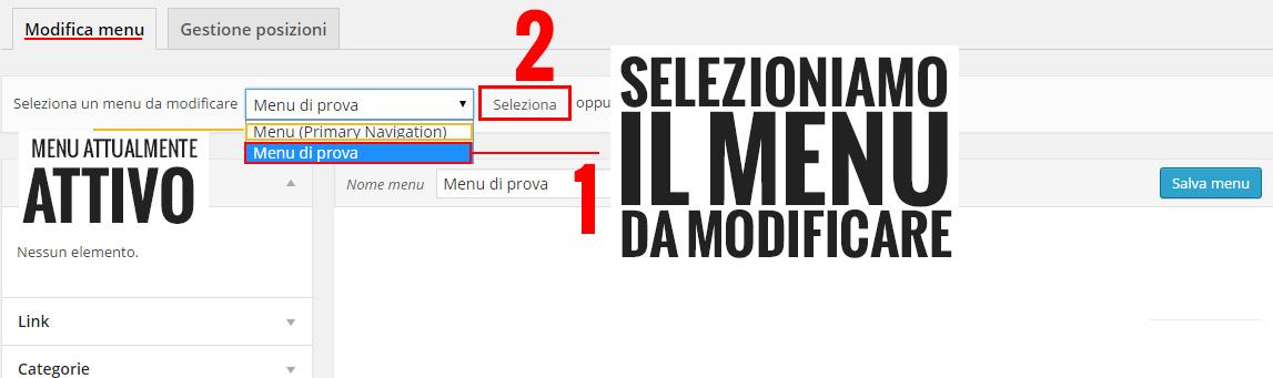 selezionare-menu-da-modificare-wordpress