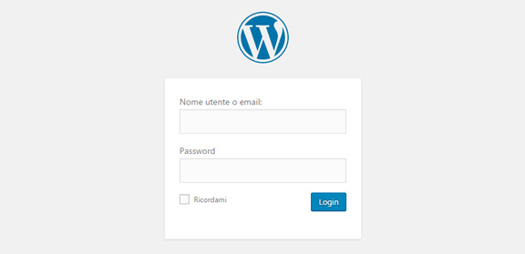 login-aruba-wordpress